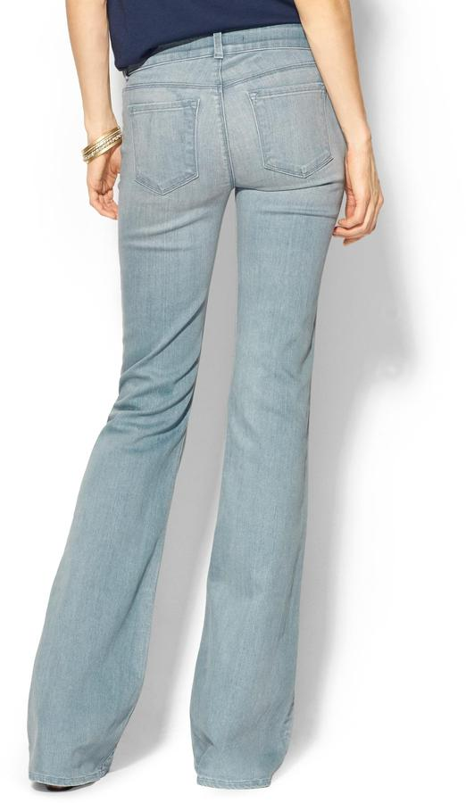 J Brand Love Story Low Rise Bell Bottom