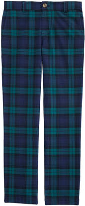 Vineyard Vines Boys' Holiday Plaid Breaker Pants