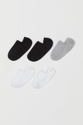 H&M 5-pack Liner Socks - White