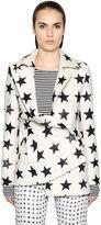 Max Mara Star Printed Wool & Angora Coat