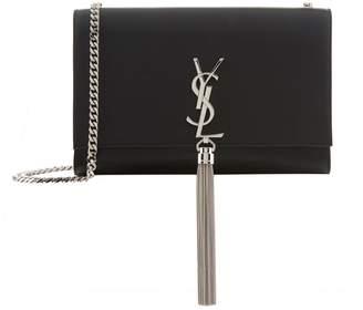 Saint Laurent Medium Kate Monogram Tassel Shoulder Bag