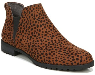 Dr. Scholl's Real Cute Cheetah Print Chelsea Boot