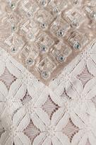 Anna Sui RUNWAY Lace With Diamond Beading Tank Dress