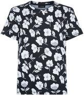 J. Lindeberg Floral Print T-Shirt