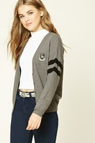 Forever 21 FOREVER 21+ Patch Graphic Cardigan