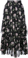 Ulla Johnson midi floral printed skirt