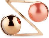 LeiVanKash Rose Gold Mata Cuff Bracelet