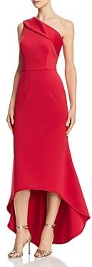 Black Halo Cadencia One-Shoulder Gown