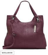 Vince Camuto Riley10 - Suede-Detailed Bubble Lamb Tote