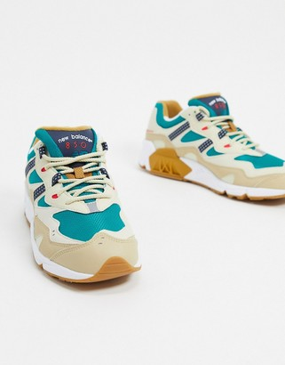 New Balance 850 trainers in beige