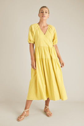 Seed Heritage Sustainable Wrap Tiered Dress