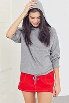 Silence & Noise Silence + Noise Double Knit Hoodie Top
