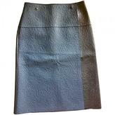 Loewe Black Leather Skirts