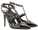 Valentino Garavani Rockstud patent leather pumps