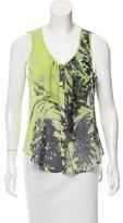 Yoana Baraschi Sleeveless Printed Top