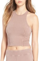BP Women's Washed Stretch Cotton Crop Top