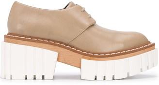 Stella McCartney Emilie lace-up platform shoes