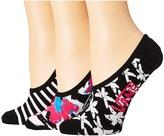 Vans Goodnight Garden Canoodles 3-Pair Pack Women's Crew Cut Socks Shoes