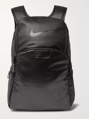 Nike Training - Brasilia Canvas and Coated-Ripstop Backpack - Men - Black