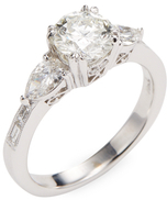 Rina Limor Fine Jewelry 1.5 Ct 18K White Gold Diamond Ring