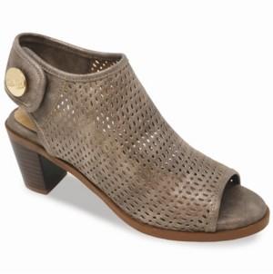 Lindsay Phillips Brooklyn Peep Toe Booties Women's Shoes