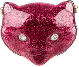 Gucci Glitter Plexiglass Cat Clutch w/ Tags