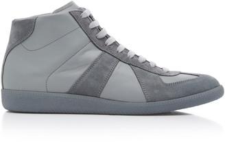 Maison Margiela Replica High Top Suede Sneakers