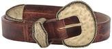 Leather Rock Loretta Belt (Cognac) Women's Belts