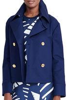 Lauren Ralph Lauren Cropped Solid Jacket