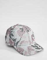 Asos Floral Brocade Baseball Cap
