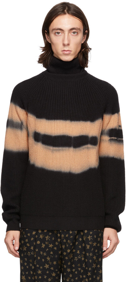 Thumbnail for your product : Davi Paris Black & Orange Rem Turtleneck