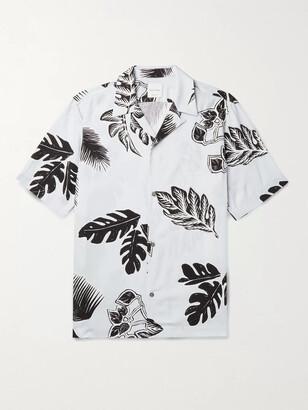 Paul Smith Camp-Collar Printed Woven Shirt