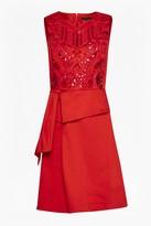 French Connection Nisha Beading Sleeveless Dress