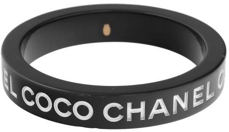 Chanel Coco Black Resin Bracelet