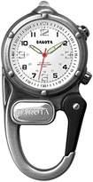 Dakota Men's 3842-6 Silver Metal Quartz Watch with Dial