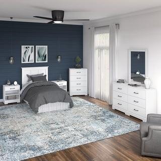 Kathy Ireland Home River Brook 6 Piece Twin Size Bedroom Set from kathy irelandA Home