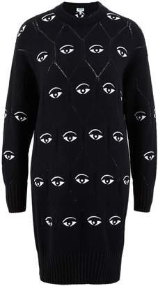 Kenzo Eye sweater dress