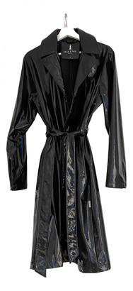 Rains Black Trench Coat for Women