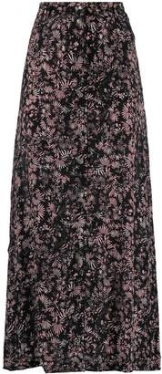 Diesel Floral Print Maxi Skirt