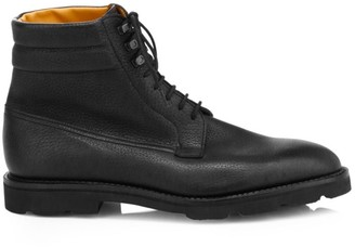 John Lobb Alder Lace-Up Leather Derby Boots