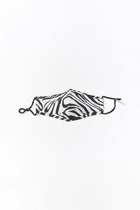 Forever 21 Zebra Print Face Mask