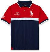 Ralph Lauren 8-20 Us Open Ball Boy Polo Shirt