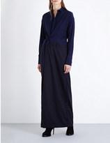 A.F.Vandevorst Belted wool-blend dress