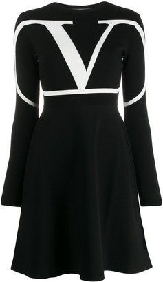Valentino VLOGO skater dress