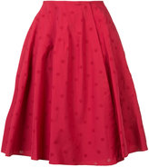 Alaia dotted pattern skirt