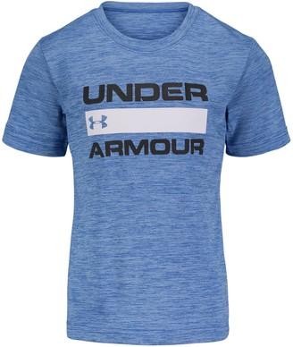 Under Armour Boys' Pre-School UA Branded Twist Short Sleeve