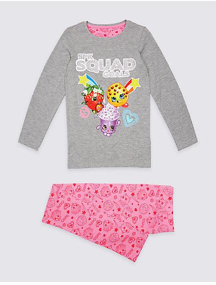 Marks and Spencer ShopkinsTM Pyjamas (4-10 Years)