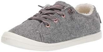 Roxy Women's Bayshore Faux Fur Slip On Sneaker Shoe