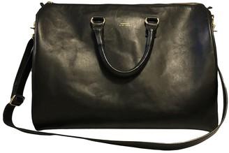 SANDQVIST Black Leather Travel bags