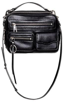 Rebecca Minkoff Jett Boxy Leather Crossbody Bag